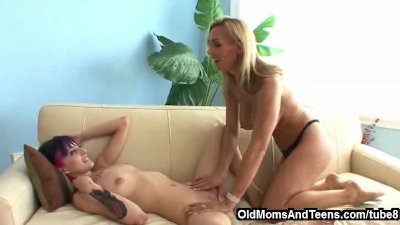 Going bad with lesbian step-mom