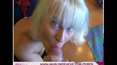 Blonde Hexe - als Escort benutzt!