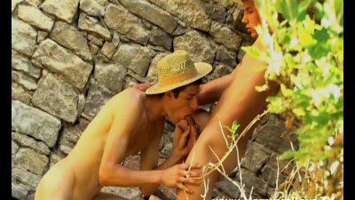 Hot gays fuck with straw hats from Hammerboys TV