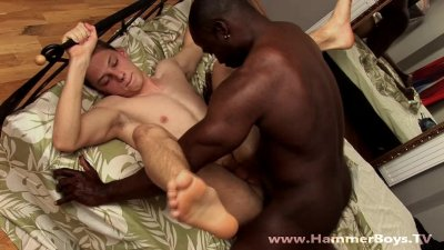 Black and white Rob Dark and Heath Denson from Hammerboys TV
