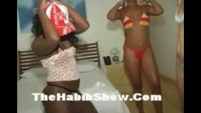 Brazilian orgy fuck-fest