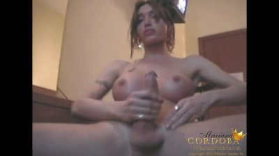 Mariana Cordoba old school masturbation