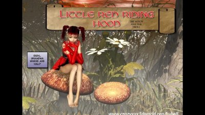 3D Comic: Red Hood. Episode 1