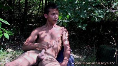Naked bad boy Goran Vidov from Hammerboys TV