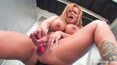 Shyla Stylez's Time Machine Fun