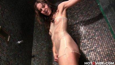 Homeless Teen Showers and Masturbates