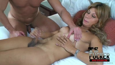 Sebastian sticks his big cock in Renatta