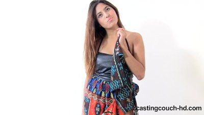 Castingcouch-HD.com - Nala worships a black dick at casting