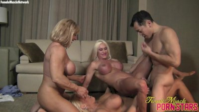 Ashlee, WildKat, and Alura - 4-Way Fun
