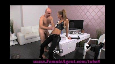 FemaleAgent. Casting creampie