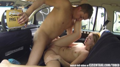 Czech Taxi - Blonde Teen gets