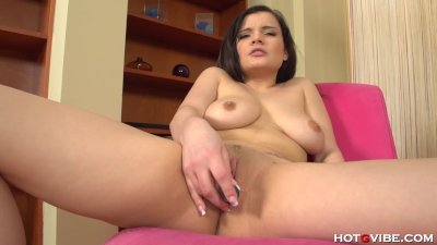Latina Teen is Tickled Pink