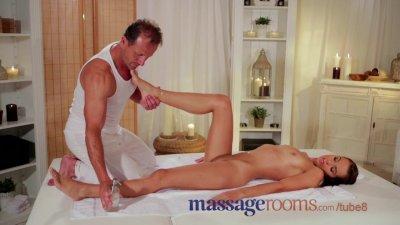 Massage Rooms Beautiful brunet