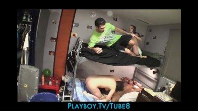 College dorm orgies