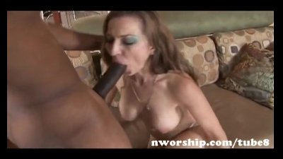 redhead milf sucks and rides a