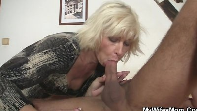 He is seduced by lewd mother-in-law