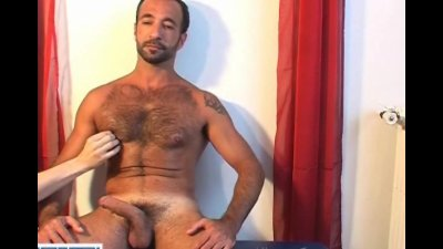 My sexy arab sport trainer agreed to let me play with his big cock !