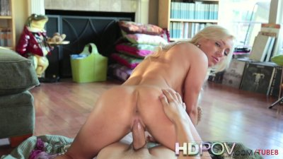 HD POV Hot Slutty Blonde with BIg Tits Wants to Fuck your Cock