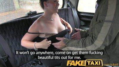 FakeTaxi London taxi spycam se