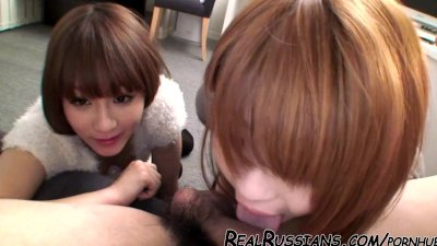 AWESOME JAPANESE THREESOME !!