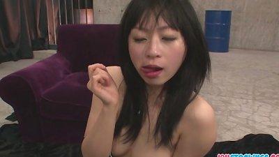 Nozomi Hazuki in stockings giv