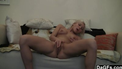 Blonde Ex Girlfriend Stripping
