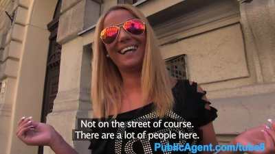 PublicAgent Sexy blonde fuck a fake modelling agent for cash