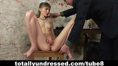 Dirty dildo test for a secretary