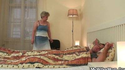 His wife finds him banging mother-in-law!
