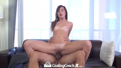 HD - CastingCouch-X petite Kaylee Haze wants to be a pornstar
