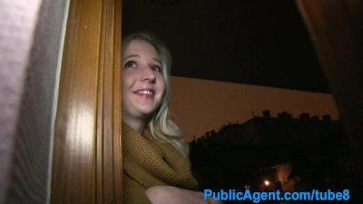 PublicAgent Young blonde comes