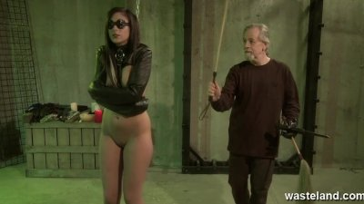 Long haired female sex slave i