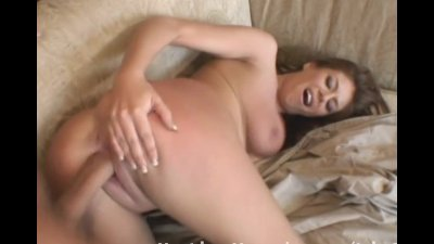 Brunette gets fucked on the co