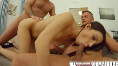 AllInternal Double anal penetr