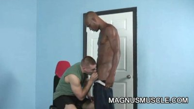 Park Wiley and Billy Long: Black On White Anal Exercise