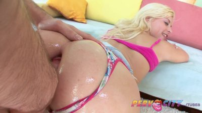 PervCity Shay Golden Gets It Up Her Ass Hole