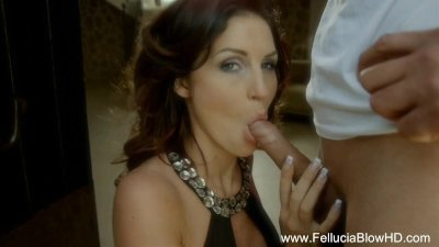 Redhead Blowjob Experience From Red MILF