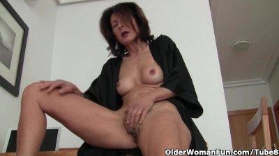 Watching porn ignites grandma'