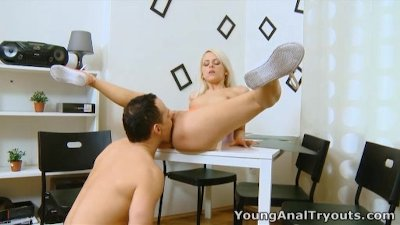 Young Anal Tryouts - Violetta