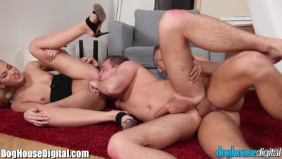 DogHouse MMF BiSexual Anal Threesome