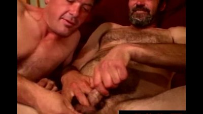 Disgusting blue collar is sucking cock