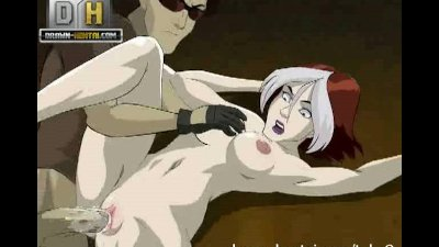 Cartoon Facial Parody video: X-Men Porn - Rogue fantasy