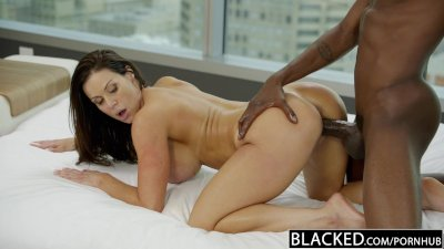 Cougar Cowgirl Gag video: BLACKED Fitness Babe Kendra Lust Loves Huge Black Cock