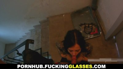 Doggystyle Euro Pov video: Fucking Glasses - Enough time for a quickie