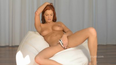 Red Head Masturbates With Her