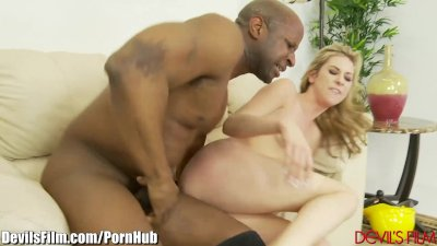 DevilsFilm Teen Fucked By Big Black Cock