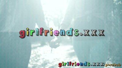 Girlfriends sexy British half
