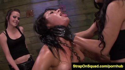 FetishNetwork Isa Mendez as slutty slave