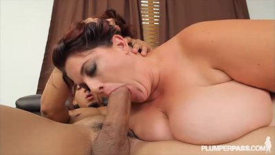 Big Booty BBW Erin Green Gets Bent Over and Fucked by Latino