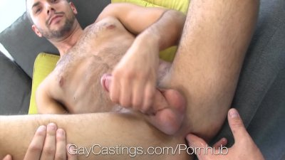 HD GayCastings - Bottom with great smile is fucked by agent